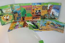 Leap Frog Tag Pen LOTS OF BOOKS EARLY READING VOWEL SOUNDS PLUS 4-6 yrs GREAT!