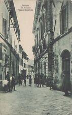 BEVAGNA: Via Flaminia - Palazzo Municipale    1923