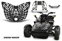 Hood Graphics Kit Decal Sticker Wrap For Can-Am F3-S Spyder Roadster WIDOW W K