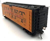 HO Scale Swift Premium Ham Reefer SRLX 21043 Freight Car Railroad Train Vintage