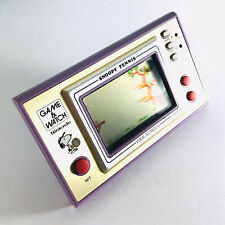 Nintendo Game & Watch Snoopy Tennis 1988 Handheld Electronic Game Purple Case