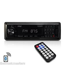 Car Stereo Radio Receiver USB SD MMC Card MP3 Audio Player w/Bluetooth Streaming