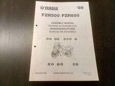 Yamaha FZR 500 600 FZR500 FZR600 1989 Assembly Manual Montageanleitung