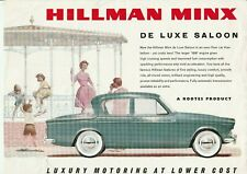Hillman Minx Series IIIc 1600cc Brochure - c.1961