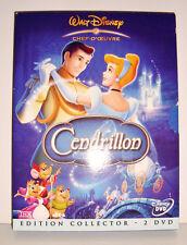 DVD WALT DISNEY - CENDRILLON EDITION COLLECTOR 2 DVD LOSANGE NUMERO 14