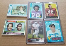 1961 to 2006 Topps Press Pass OJ Simpson Sonny Randle Riggins NFL Football Cards