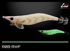 Yamashita EGI OH Q Warm Jacket LIVE Squid Jig #3.0 Basic (Glow Body) - R08/RWF