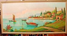 Küste bei Split  natur dekorativ zeitlos schön, Ölbild Ölgemälde  Dalmatien
