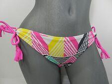 Raisins Tie Side  Geometric Swimsuit Bottom Separates , S