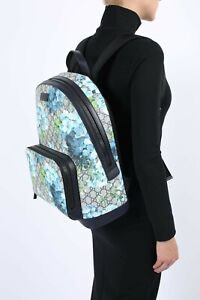 Gucci GG Blue Blooms Backpack