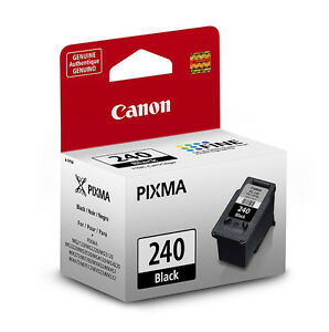 Genuine Canon PG240 black ink PG 240 for PIXMA MG3520 MG3620 all in one printer