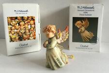 Goebel M I Hummel Angel Ornament 1990 #243 Peace On Earth 'The Love Lives On'
