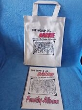 2003 Barbie Doll Convention Canvas Tote Bag & Souvenir Book