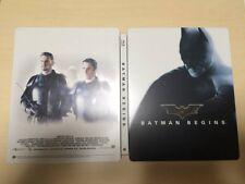 amazon.co.jp limited Batman Begins Blu-ray Steel Book rare from Japan