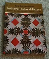 TRADITIONAL PATCHWORK PATTERNS - Full-Size Cut-Outs 12 QUILTS (Carol Grafton)