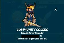 Brawlhalla Community Colors Code, 500+ Reviews, DELIVERY IN MINUTES!!!