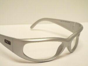 Authentic Arnette AN4174-2174-6Q CATFISH Silver Wrap Sunglasses Frame