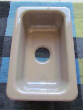 KOHLER K-6586-33 Iron/Tones Single Bowl Top / Under Mount Sink Mexican Sand NEW