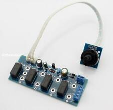 AC12V Four Channels Input Switching Board for Audio Power Amplifier DIY