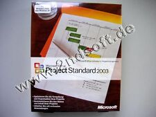 Project 2003 estándar versión completa, alemán, SKU: 076-02720 * retailbox *