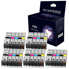 25 Ink Cartridges for Canon iP4600 iP4700 MX860 MP560 MP620 MP630 MP640 MP980