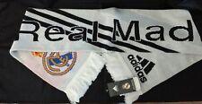 "Adidas Real Madrid C.F. Spain Soccer Estadio Santiago Bernabeu Scarf 58"" x 7"""