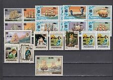 a120 - PENRHYN ISL - SG299-319 MNH 1983 SURCH ON VARIOUS STAMPS - FULL SET