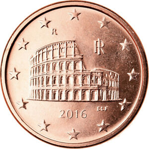 [#793118] Italie, 5 Euro Cent, 2016, SPL, Copper Plated Steel, KM:New