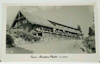 Canada Vancouver Grouse Mountain Chalet RPPC Real Photo Postcard J3