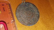 """ITALY ITALIAN MEDAL with INSCRIPTION """"CORTE SAVOIA NO.444 F OF A"""" MAY 8, 1910"""