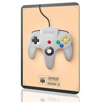 METAL SIGN Controller Collectors NINTENDO 64 Video Game ARCADE Poster #7 DECOR