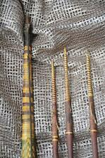 Old Papua New Guinea Solomon Islands Hunting Bow & Arrows w/ Fish Bone Barbs...