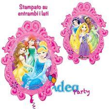 PALLONCINO mylar Disney SPECCHIO PRINCIPESSE 78 cm Addobbi Feste Compleanno