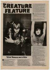 Kiss UK Interview 1982