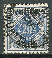 Germany (Weimar) 1920 Used Official 20pf from Wuerttemberg Set O/P Mi 55 SG O158