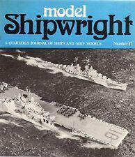 Model Shipwright No 17  (Conway 1976 1st)