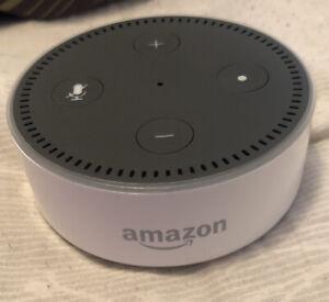 Amazon Echo Dot 2nd Generation Smart Speaker Alexa Enabled RS03QR White w/ Cord