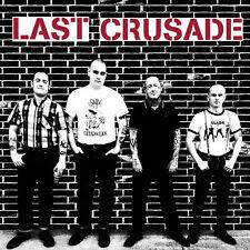 "LAST CRUSADE s/t 7"" - new RED Vinyl - Oi! Punk Longshot Rebellion Last Resort"