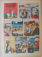 Lone Ranger Sunday Page by Fran Striker and Charles Flanders from 10/30/1955