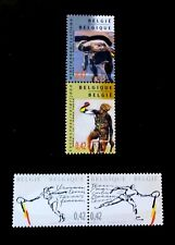 SELLOS BELGICA 2002 3047/50 DEPORTES CICLISMO/TENIS 4v.