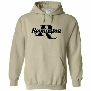 Remington Black Logo Hoodie Sweatshirt 2nd Amendment Pro Gun Rights Rifle Pistol