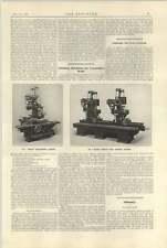 1921 Churchill Broadheath Grinding Machines Altered Stern Post Thorneycroft