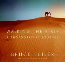 BRUCE FEILER - Walking the Bible, A Photographic Journey - Hardcover, Mint!