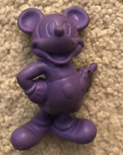 Mickey Mouse Hard To Find Bendy Figure Solid Color - Disney