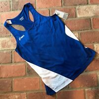 Asics Blue Women's Size M Running Workout Athletic tank
