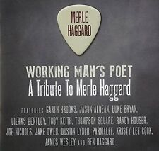 NEW Working Man's Poet: A Tribute to Merle Haggard (Audio CD)