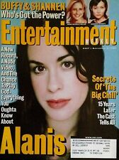 Alanis Morissette (1998) Cover Story (+mag) Entertainment Weekly The Big Chill
