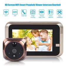 Videocitofono WIFI Spioncino Elettronico Digitale 4.3'' Monitor Telecamera Video