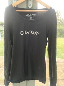 Black Calvin Klein Pajama Top