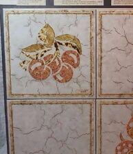 Vtg MID CENTURY ELEGANT ROMANY SPARTAN Italian Ceramic TILE Sample board B757